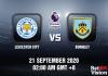 Leicester v Burnley Match Prediction - EPL - 210920