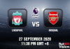 Liverpool v Arsenal Match Prediction – EPL – 290920