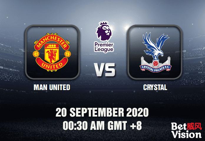 Man United v Crystal Match Prediction - EPL - 200920