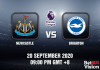 Newcastle v Brighton Match Prediction - EPL - 200920