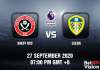Sheff United v Leeds Match Prediction - EPL - 270920