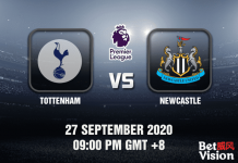 Tottenham v Newcastle Match Prediction - EPL - 270920