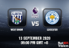 West Brom v Leicester Match Prediction - 13920