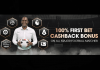100% FIRST BET CASHBACK on All 5 Major Football Leagues