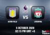 Aston Villa v Liverpool Match Prediction - EPL - 51020