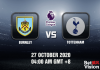 Burnley v Tottenham Match Prediction - EPL - 27 October 20