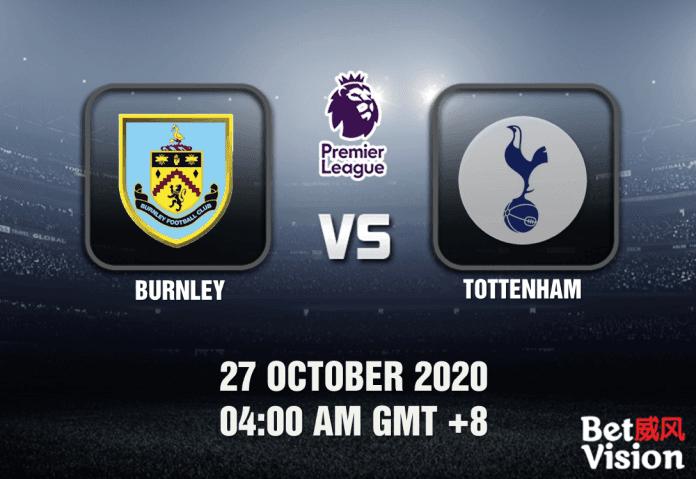 Burnley v Tottenham Match Prediction - EPL - 27 October 20