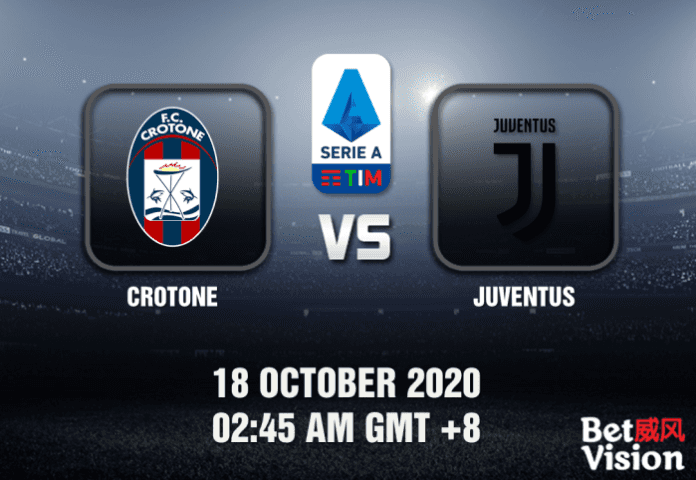 Crotone v Juventus Match Prediction – Serie A – 181020