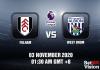 Fulham v West Brom Match Prediction – EPL – 3 October 20