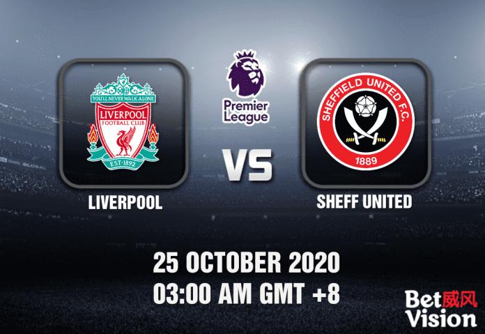 Liverpool v Sheff United Match Prediction - EPL - 251020