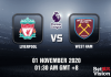 Liverpool v West Ham Match Prediction - EPL - 011120