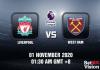 Liverpool v West Ham Match Prediction - EPL - 011120