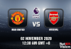 Man United v Arsenal Match Prediction - EPL - 02 October 20