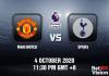 Man United v Spurs Match Prediction - EPL - 4102020