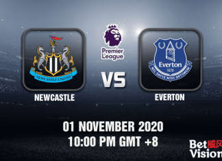 Newcastle v Everton Match Prediction – EPL – 01 November 20
