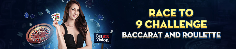 Race to 9 Challenge Baccarat and Roulette - New Promotion Blog Header