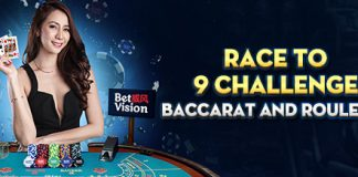 Race to 9 Challenge Baccarat and Roulette