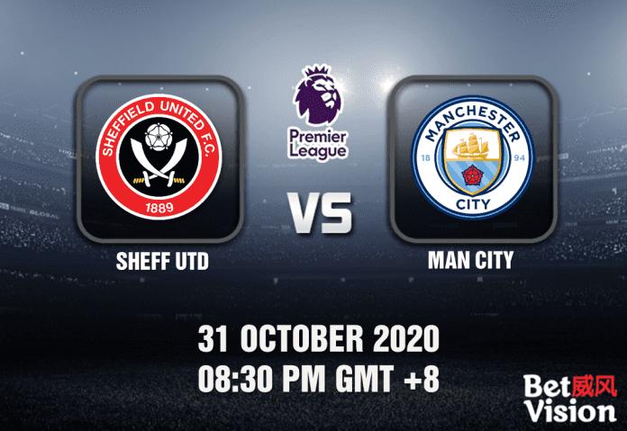 Sheff Utd v Man City Match Prediction - EPL - 311020