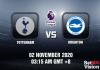 Tottenham v Brighton Match Prediction - EPL - 02 November 20