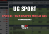 UG Sport – Sports Betting in Singapore – Best Odds