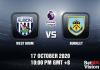 West Brom v Burnley Match Prediction - EPL - 171020