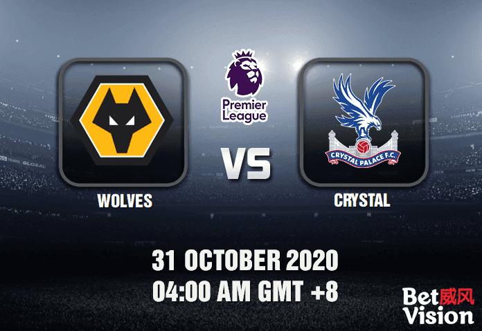 Wolves v Crystal Match Prediction - EPL - 311020