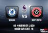 Chelsea v Sheff United Match Prediction - EPL - 8 November 20