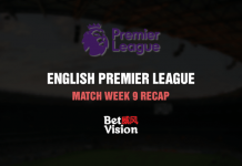 English Premier League Match Week 9 Recap – 25 Nov 20