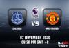 Everton v Man United Match Prediction - EPL - 7 November 20