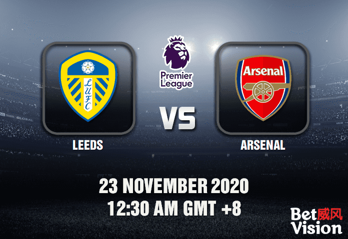 Leeds v Arsenal Match Prediction - EPL - 23 Nov 20