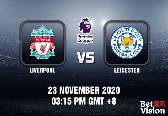Liverpool v Leicester Match Prediction - EPL - 23 Nov 20