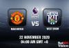 Man United v West Brom Match Prediction - EPL - 22 Nov 20