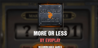 More or Less by Evoplay - Recommended Slot Game - 5 November 20