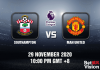 Southampton v Man United Match Prediction - EPL - 29 Nov 20