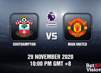 Southampton v Man United Match Prediction - EPL - 29 Nov 20