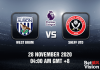 West Brom v Sheff United Match Prediction - EPL - 29 Nov 20