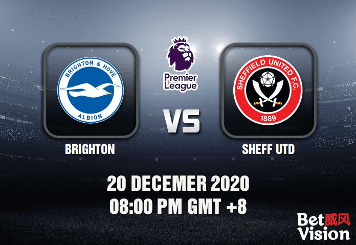 Brighton v Sheffield Utd Prediction - EPL - 20 Dec 20