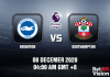 Brighton v Southampton Match Prediction - EPL - 8 December 20