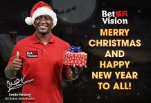 Emile Heskey Greets Everybody a Merry Christmas and Happy New Year!
