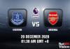 Everton v Arsenal Prediction - EPL - 20 Dec 20