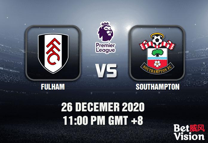 Fulham V Southampton Prediction Epl 26 12 20