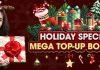 HOLIDAY SPECIALS MEGA TOP UP BONANZA - Promotions - Logo