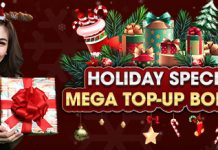 HOLIDAY SPECIALS MEGA TOP UP BONANZA - Promotions - Logo
