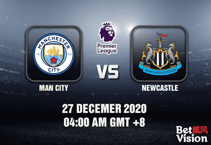 Man City v Newcastle Prediction - EPL - 27 Dec 20