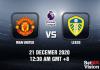 Man United v Leeds Prediction - EPL - 21 Dec 20