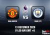 Man United v Man City Prediction - EPL - 13 December 20