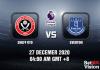 Sheff Utd v Everton Prediction - EPL - 27 Dec 20