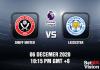Sheff Utd v Leicester Match Prediction - EPL - 6 December 20