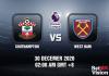 Southampton v West Ham Prediction - EPL - 30 Dec 20
