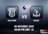 West Brom v Crystal Match Prediction - EPL - 6 December 20